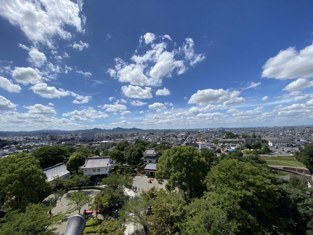 犬山城からの展望